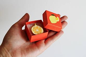 Náhrdelníky - Kyslý citrón - 9662519_