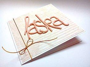 Papiernictvo - Pohľadnica ... láska - 9662086_
