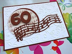 Papiernictvo - Pohľadnica k 60-ke (Zlatá) - 9662643_