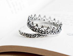 Prstene - 925 sada strieborných prsteňov Malika - 9662004_