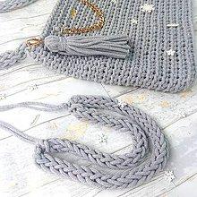 Nákupné tašky - Bag&neklace sada - 9661139_