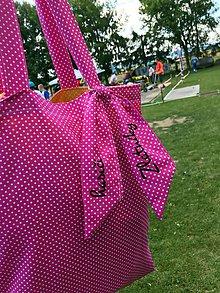 Nákupné tašky - taška ružová/žltá - stop igelitkám - 9662097_