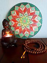 Dekorácie - Mandala lásky a uzdravenia - 9661225_