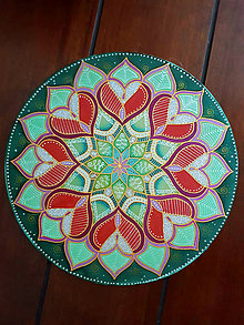 Dekorácie - Mandala lásky a uzdravenia - 9661227_