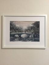 Obrazy - Cez most - 9661834_