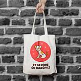Nakupovanie 1. (bavlnená taška)