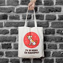 Nákupné tašky - Nakupovanie 1. (bavlnená taška) - 9661147_
