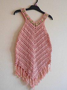 Detské oblečenie - Detská plážová tunika - 9662416_