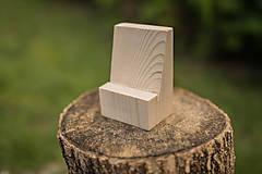Dekorácie - Drevený svadobný fotostojan (dva druhy) - 9661364_