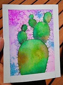 Obrazy - Kaktus - 9661485_