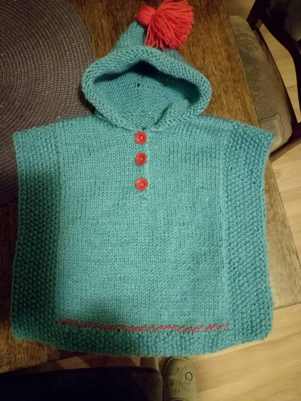 16cadcdbf Pončo / Vieraka1 - SAShE.sk - Handmade Detské oblečenie