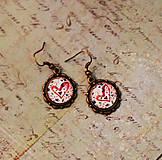 Náušnice - Bumpkinovej šperk/ Moje srdce - 9664746_