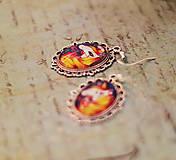 Náušnice - Bumpkinovej šperk/ Viac než koník - 9664765_