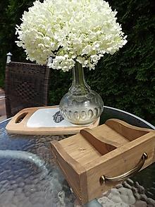 Nádoby - Drevený šuflík - 9664247_