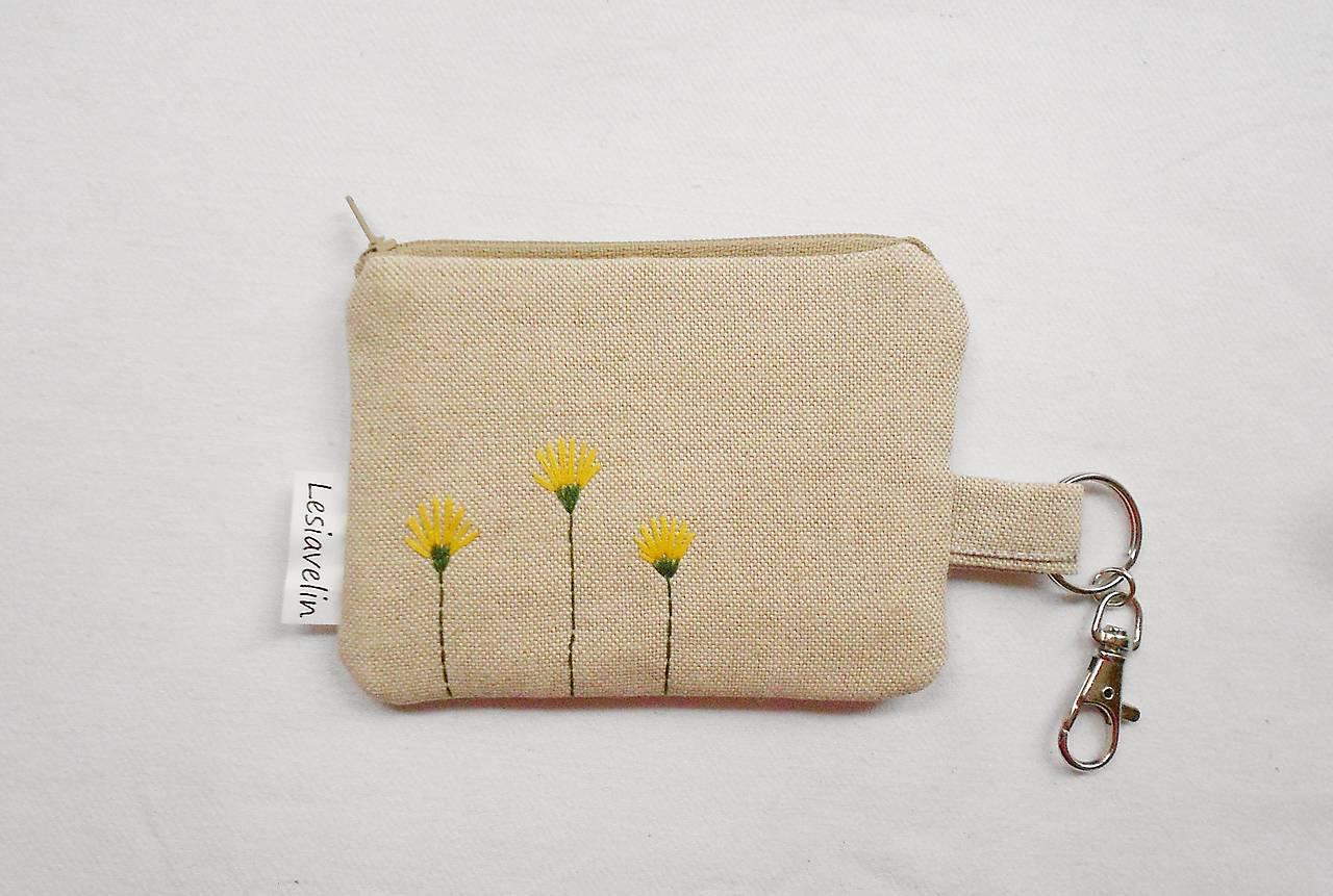 Peňaženka/dokladovka - Púpavky