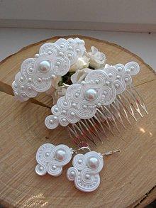 Sady šperkov - Svadobný set Lilien - 9665533_