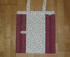 Nákupné tašky - Taška nákupná skladacia s vreckom  - štyri varianty (4 kombinácia) - 9664770_