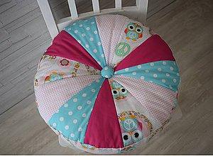 Textil - DĚTSKÝ PUF ...sovičky - 9663598_