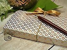 Papiernictvo - Golden zápisník - 9664049_