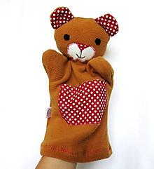 Hračky - Maňuška medveď - Macko z Červenej ulice - 9663442_