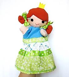 Hračky - Maňuška princezná - Mona - 9665619_