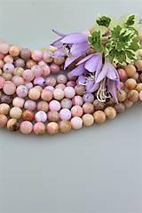 opál ružový andský 8mm korálky , cena za 10ks