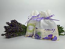 Levanduľové vrecúška (bavlnené s madeirou)