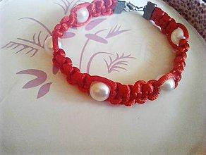 Náramky - perlový náramok proti urieknutiu - 9663956_