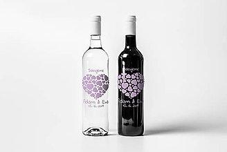 Darčeky pre svadobčanov - Vyrezávané etikety - Srdce - 9665483_