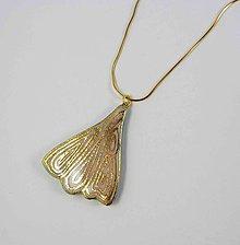 Náhrdelníky - Tana šperky - keramika/zlato - 9663414_