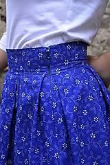 Sukne - Sukňa + motýlik + gumička  - 9666049_