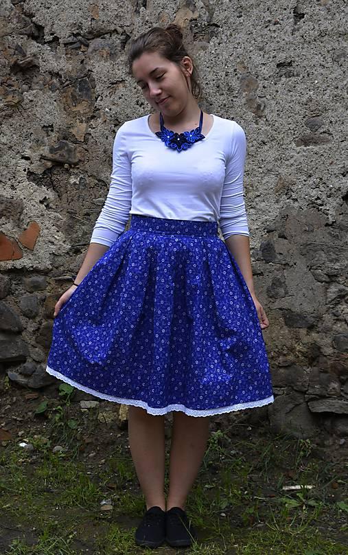 Sukňa + motýlik (teraz so zľavou)   Kvetinova - SAShE.sk - Handmade ... 50b6a19b572