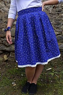 Sukne - Sukňa + motýlik + gumička - 9666047_
