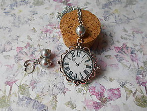 Sady šperkov - Hodinková romantika # 21 - 9665646_