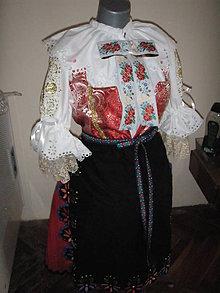 Iné oblečenie - Ľudový odev - sviatočný - 9665082_