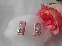 Ružové napichovačky
