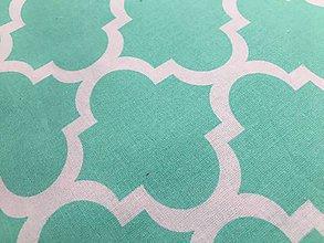Úžitkový textil - mentolový vankúš - 9663679_
