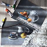Obrazy - Pomaranče v miske - 9663813_