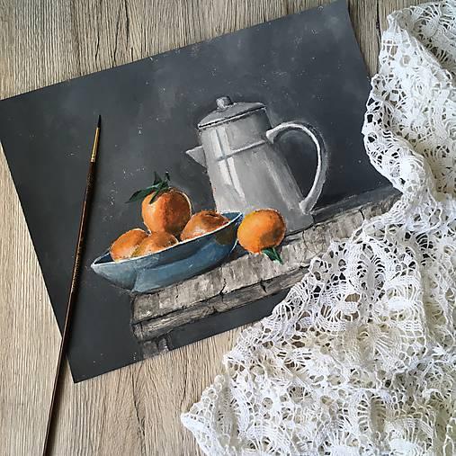 Pomaranče v miske