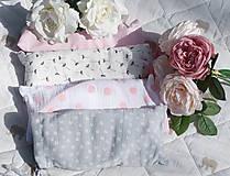 Tehotenské/Na dojčenie - Šatka na dojčenie Pink Dots - 9666123_