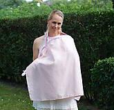 Tehotenské/Na dojčenie - Šatka na dojčenie Pink Lady - 9666140_