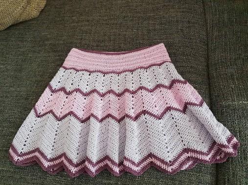 9c72b98526f3 Dievčenské hačkované sukničky   WiThPuReLoVe - SAShE.sk - Handmade ...