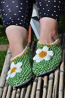 Obuv - margaréta-papuče podšité filcom 39-40 - 9666126_