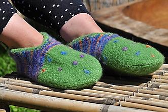 Obuv - Plstené papuče - 9666168_