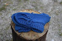 Obuv - JEANS  - ponožky s dierkovaným vzorom (v.38-39) - 9664638_