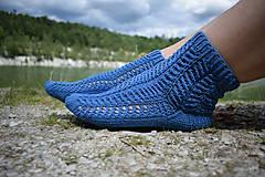 Obuv - JEANS  - ponožky s dierkovaným vzorom (v.38-39) - 9664642_