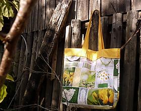 Nákupné tašky - taška žltá - stop igelitkám - 9668726_