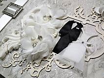 Papiernictvo - Promise svadbný album alebo kniha hostí - 9667542_