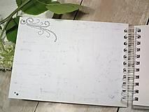 Papiernictvo - Promise svadbný album alebo kniha hostí - 9667547_