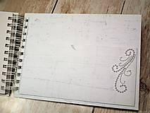 Papiernictvo - Promise svadbný album alebo kniha hostí - 9667548_